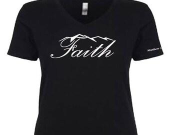 Ladies Faith Shirt - Matthew 17:20