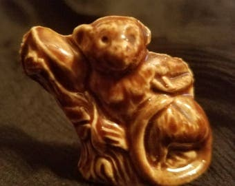 Wade Whimsies Monkey Porcelain Figurine