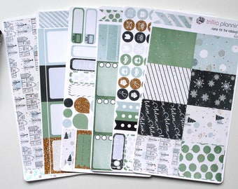 Home for the Holidays - Erin Condren Vertical Weekly Kit
