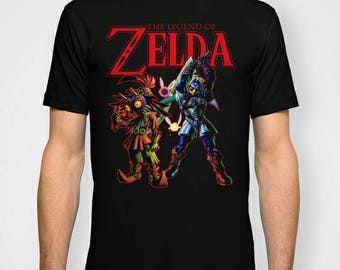 Legend Of Zelda Majora' s Mask nostalgia tee