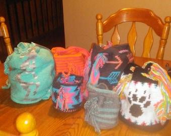 Custom made Drawstring bags