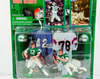 Starting Lineup Classic Doubles NFL Joe Namath & Don Maynard Action Figure