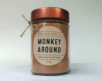 Monkey Around - Monkey Bread Soy Candle