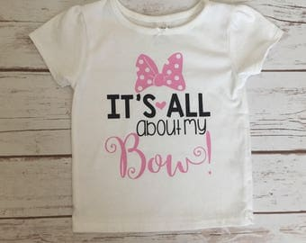 Its all about my bow shirt