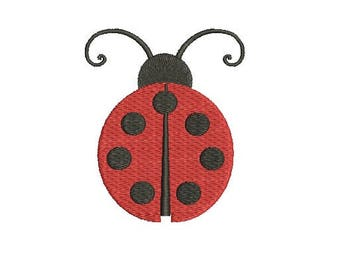 Ladybug Lady Bug  Embroidery Fill  Design Machine Embroidery Instant Download Digital File EN1046_F4