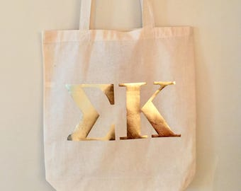 Sorority tote bag **FREE SHIPPING**
