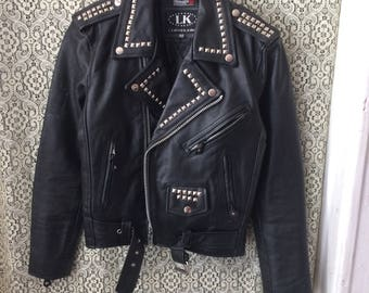 Nice Studded Leather Jacket
