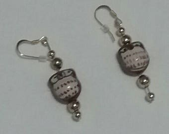 Owl Earrings (#005)