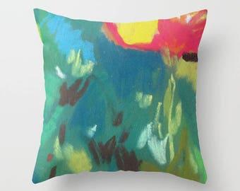 Art on pillow