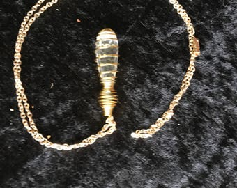 Spiral necklace