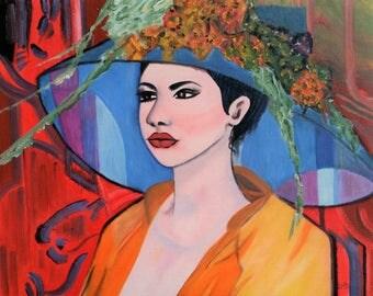 Elegance - Oil Painting