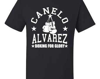 Canelo Álvarez Boxing For Glory Unisex T Shirt