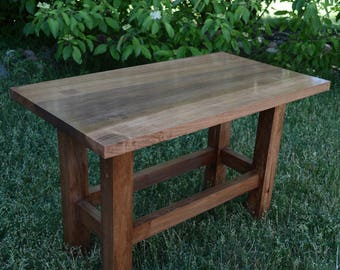 Coffee Table-Poplar Hardwood