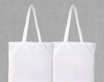 100% Organic Natural Cotton Canvas bag reusable shopping bags canvas tote bag cotton grocery bags