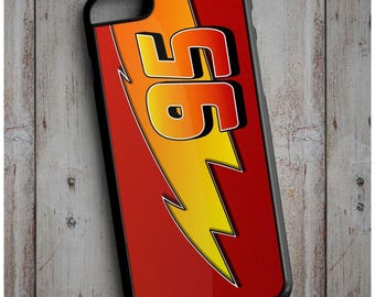 Lightning Mcqueen - Pixar Cars 3 Movie Print Cool New Case Cover for any iPhone