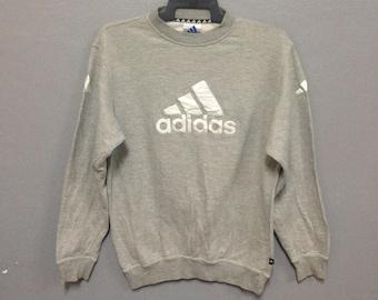 Rare!! Vintage Adidas Big Logo Sweatshirt Size XL