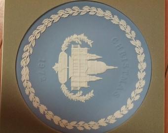 1972 wedgewood jasperware Christmas plate