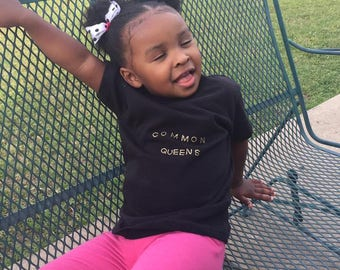 CommonQueens Kids shirt