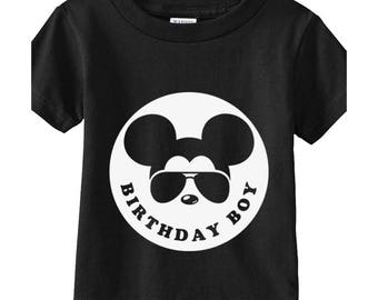 Birthday Boy  Mickey Shirts, Birthday boy shirts, gift for boy, Mickey shirts, disney shirts, birthday shirts, birthday disney shirts