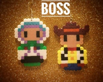 Buzz and Woody Earrings (set of two)