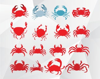 Crab svg,png,jpg/Crab clipart for Print,Design,Silhouette,Cricut and any more