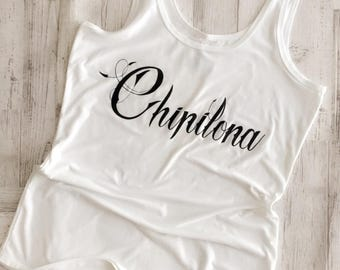 Adult Womens Chipilona Tank Top by LoveJoAndCo ~ Size XLarge Free Shipping