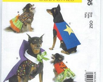 McCalls 7495 - Pet Costumes