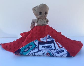 Ultra Plush and Snuggly Guardians of the Galaxy Groot Lovey