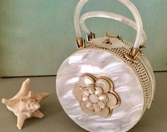 Vintage Tropic Imports Wicker Handbag
