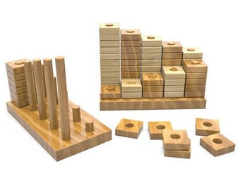 Learn Your Numbers Stacking Block Set