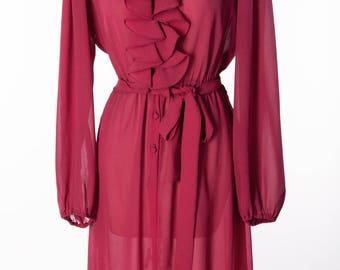 Beautiful Vintage Red Dress