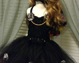Black Dolly Tutu dress