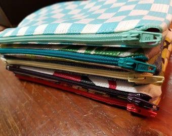 Zippered purse