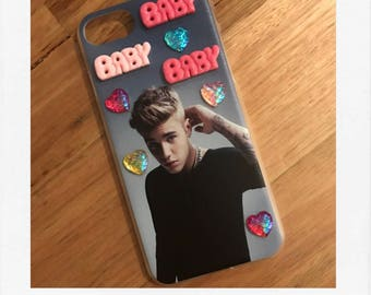 Justin Bieber 3D Decoden iPhone 7 Cover