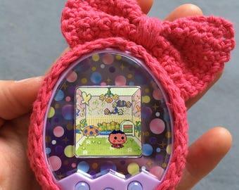 Tamagotchi Crochet Case