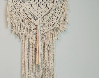 Large Double Layer Wall Hanging