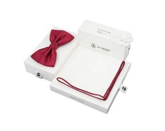 de MORÉ - cherry bow tie set