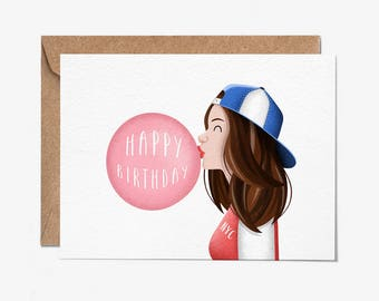 Happy Birthday - Greeting Card - Birthday Card - Folio - thisisfolio - Stationery