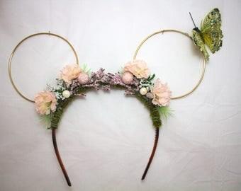 Deluxe Custom Floral Ears