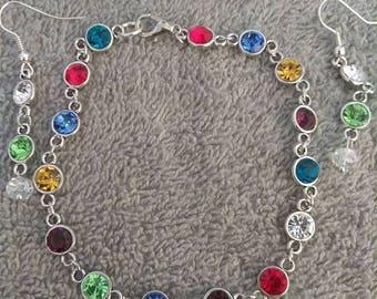 Multi color bracelet set