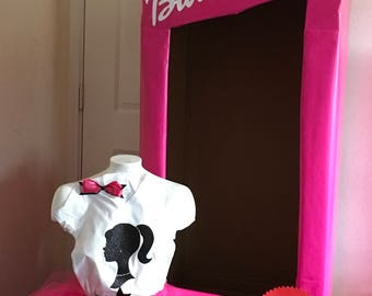 Barbie photobooth and outfit set