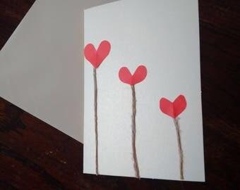Heart Design Card