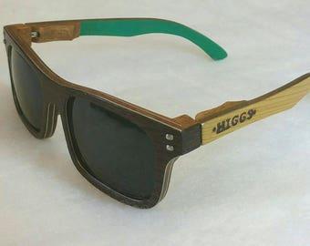 Men's Wenge Wooden Sunglasses