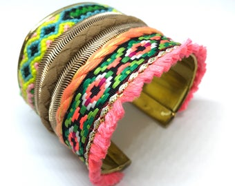 Brand new bracelet bangle hand made india style jewellery brass