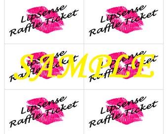 LipSense Raffle Tickets