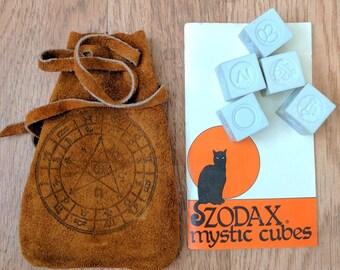 Rare Vintage Zodax Mystic Cubes