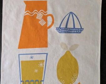Tea Towel//Kitchen Towel//British Invasion//Rachel Cave//Prewashed//Handmade