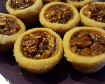 Pecan Tassies (Homemade Crust)
