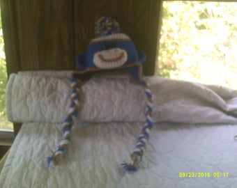boy sock monkey hat