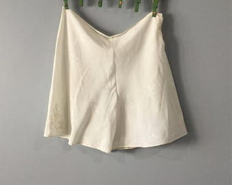 Silk ivory 1930s knicker pants